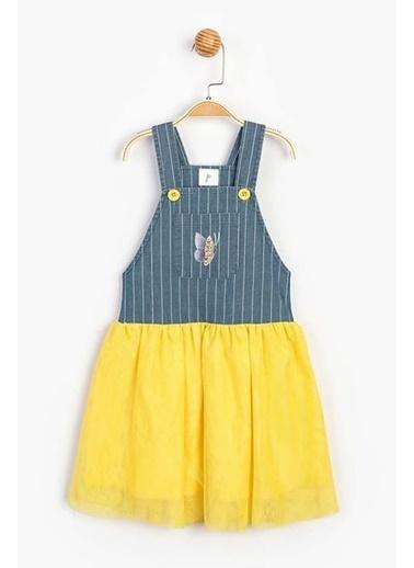 Panolino  Çocuk Askılı Elbise 15358 Sarı